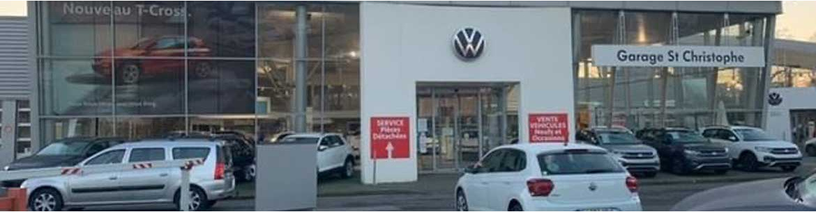Photo de la concession Garage Saint Christophe Volkswagen à Brest